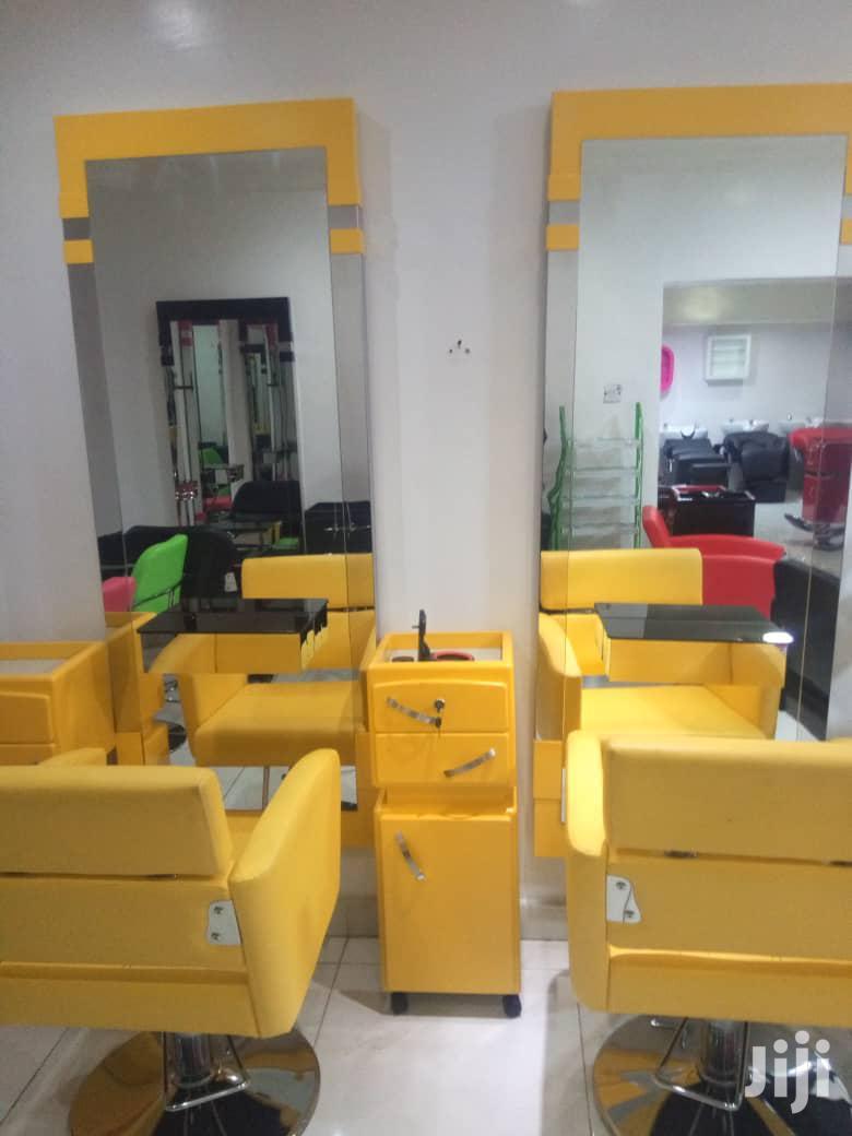 Set Of Salon Equipment
