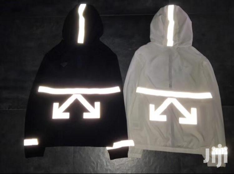 Off White Pullover Jacket