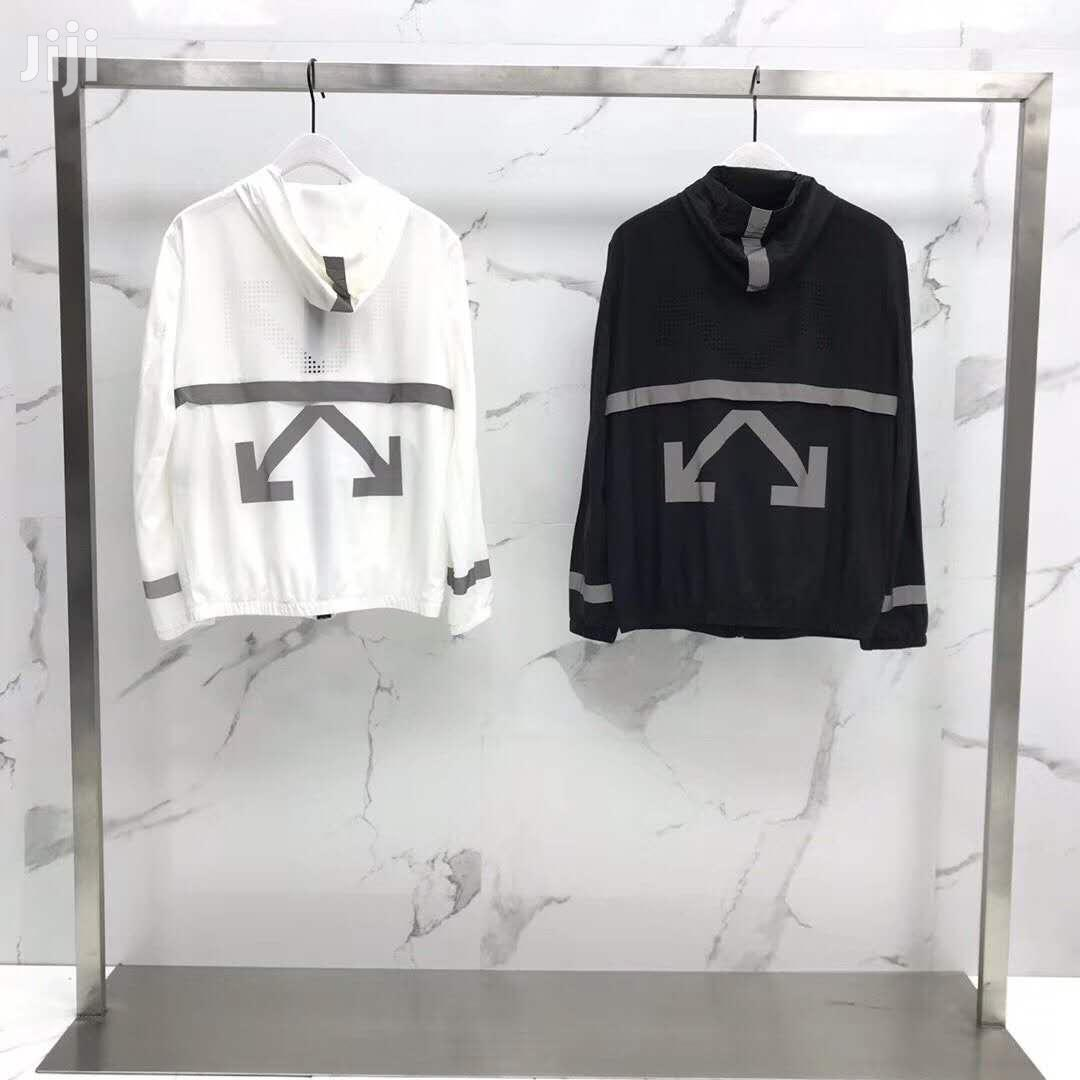 Off White Pullover Jacket | Clothing for sale in Ojo, Lagos State, Nigeria