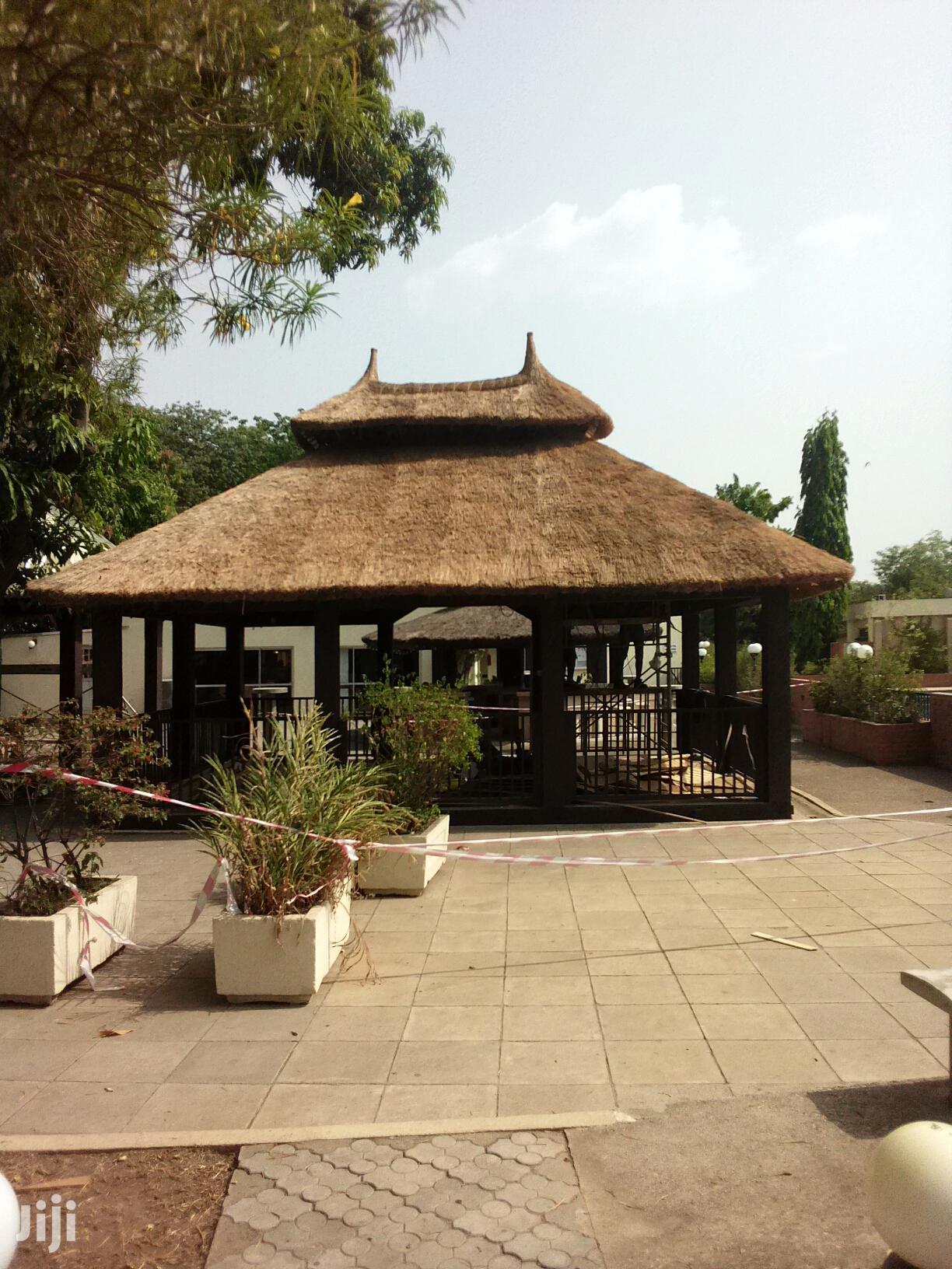 Gazebo/Thatch Specialist   Garden for sale in Gwarinpa, Abuja (FCT) State, Nigeria