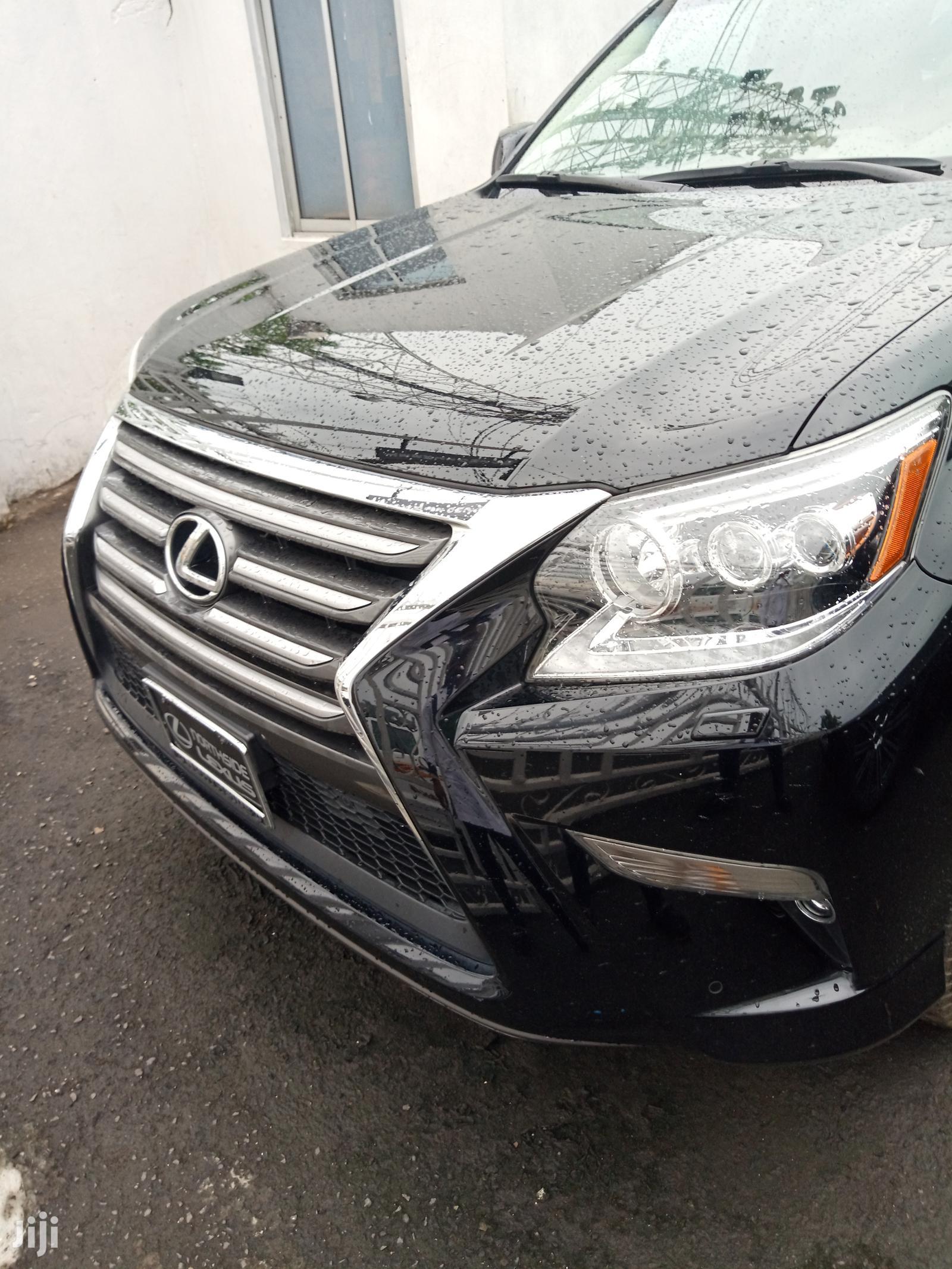 Lexus GX 2015 Black
