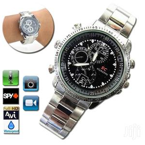 8GB Hidden Security Camera Steel Belt Watch   Security & Surveillance for sale in Lagos State, Ikeja