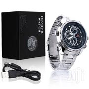 8GB HD Pinhole Camera Wrist Watch - Silver   Watches for sale in Lagos State, Ikeja