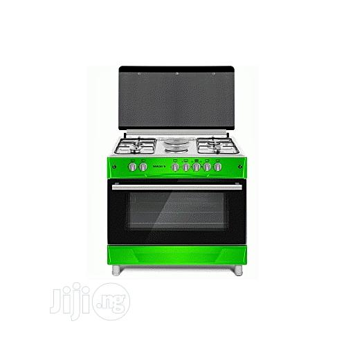 MAXI Gas Cooker 60*90 (4 + 2 ) Green