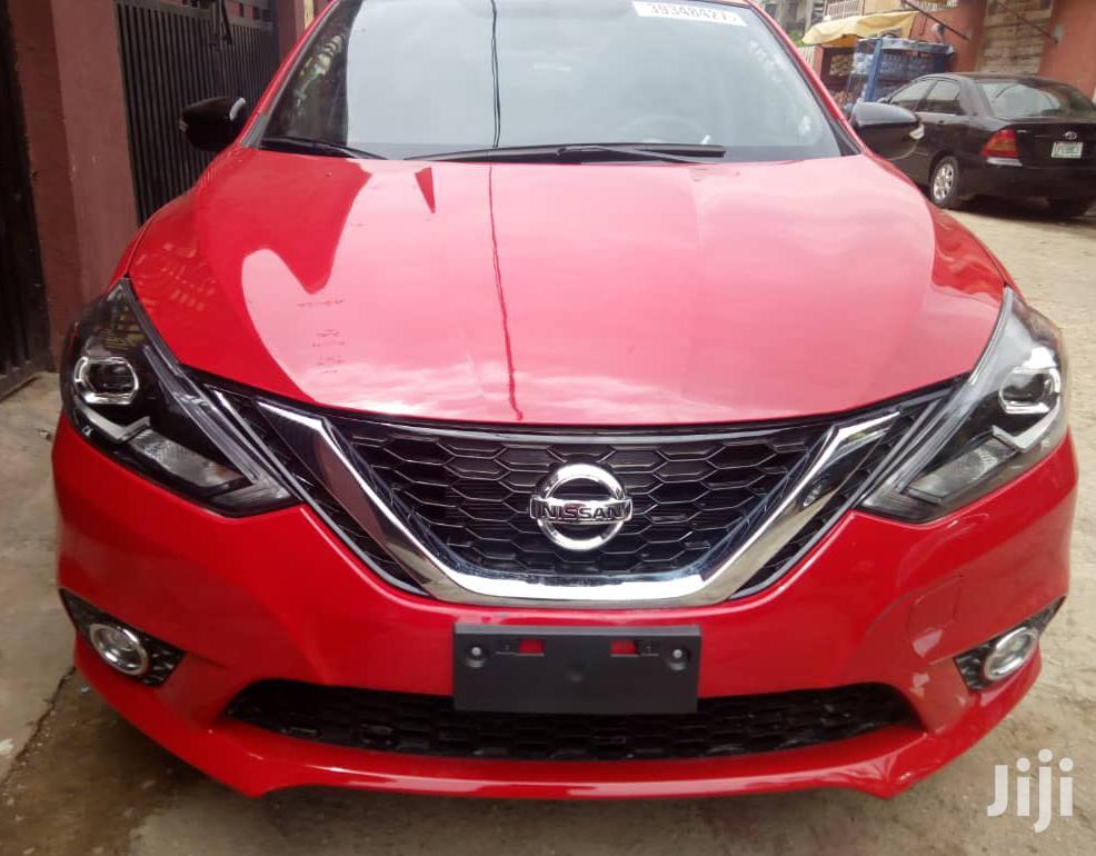 Nissan Sentra 2017 Red