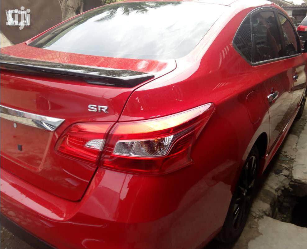 Nissan Sentra 2017 Red   Cars for sale in Surulere, Lagos State, Nigeria