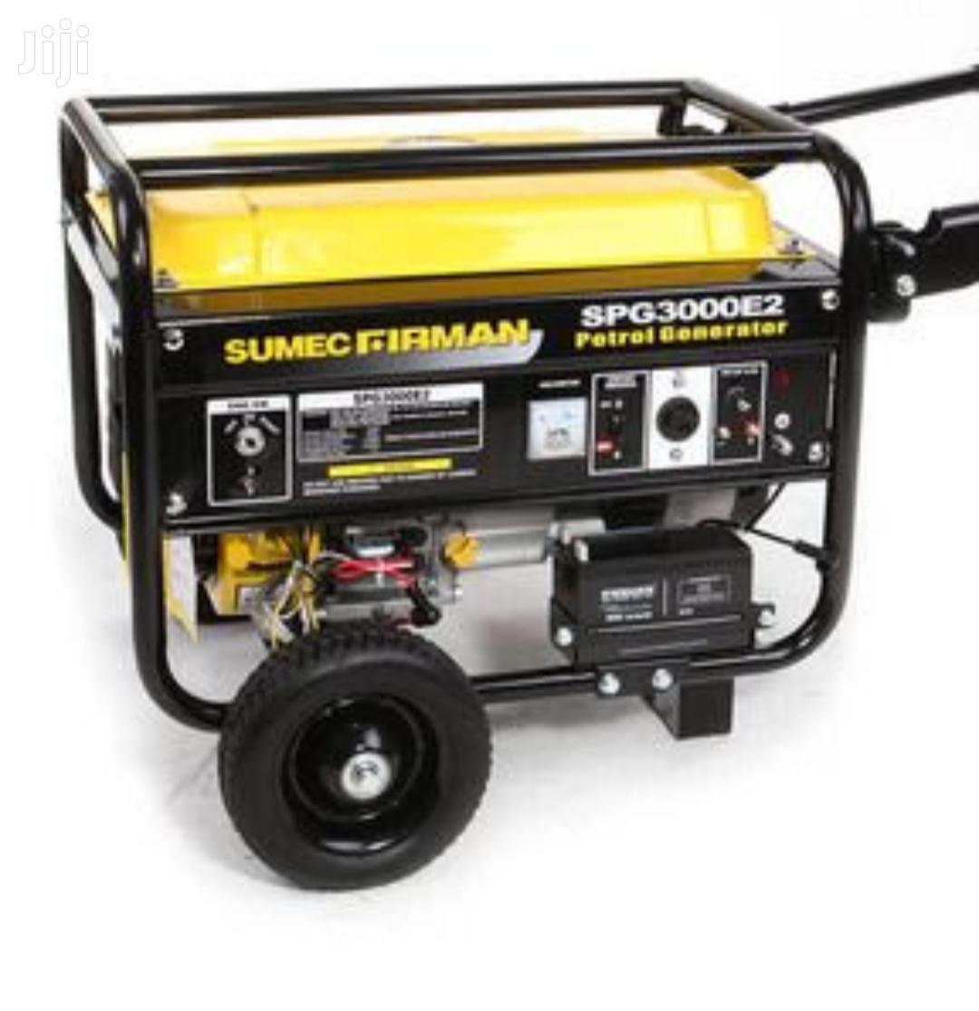 Sumec Firman Generator Spg 3000E2 With Key