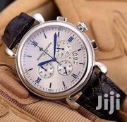 Vacheron Constantin Chronograph Silver Leather Strap Watch   Watches for sale in Lagos State, Lagos Island
