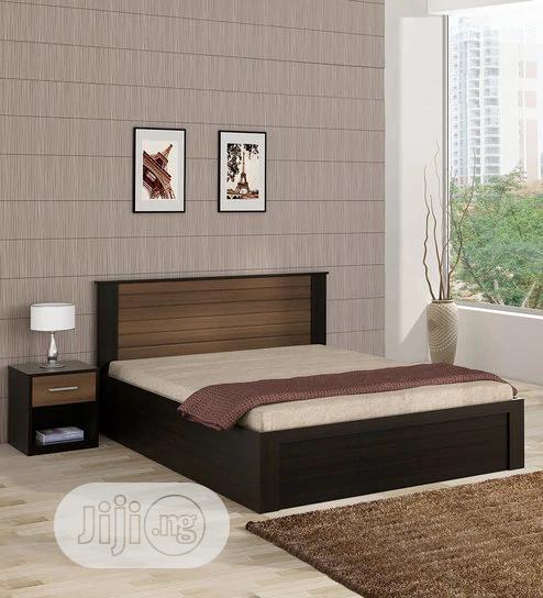 Bed Frame 6x6 With 2 Bedside Drawer