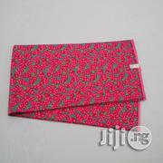 Fuchsia Pink And Grey Cotton Fabric By Reflections | Clothing for sale in Abuja (FCT) State, Kubwa