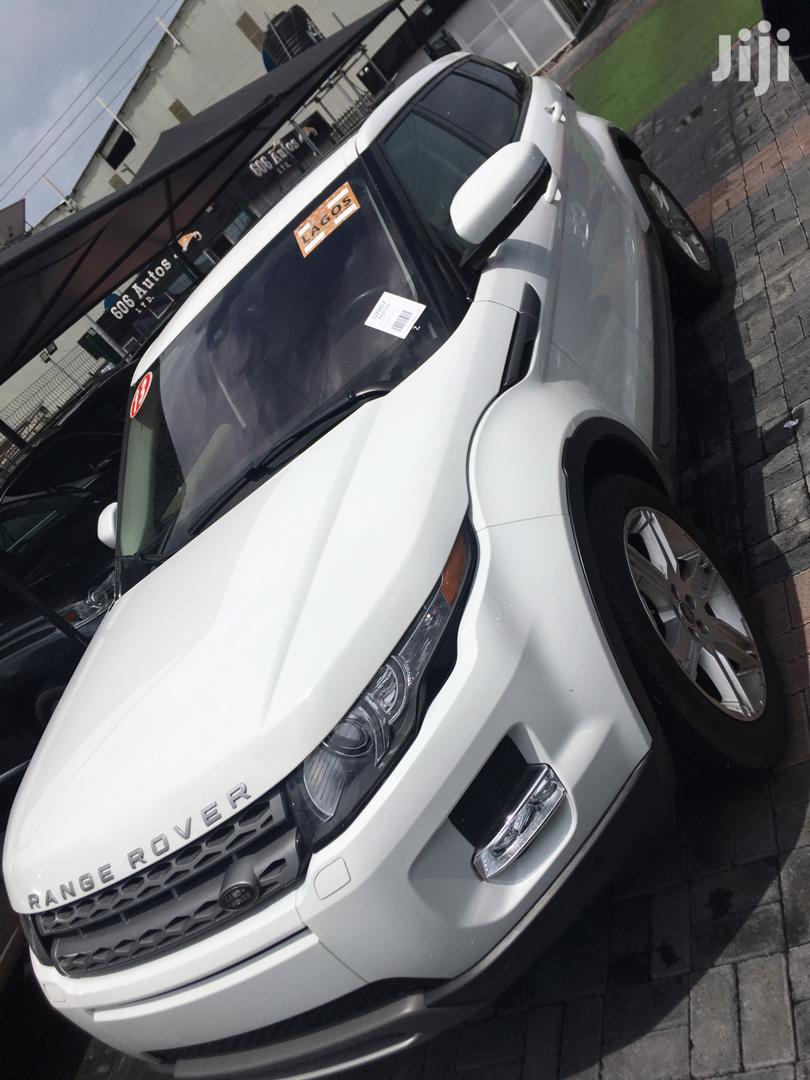 Land Rover Range Rover Evoque 2013 White