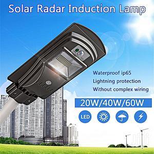 20W/40W/60W LED Solar Power Street Light PIR Motion Sensor Wall Light | Solar Energy for sale in Lagos State, Ojo