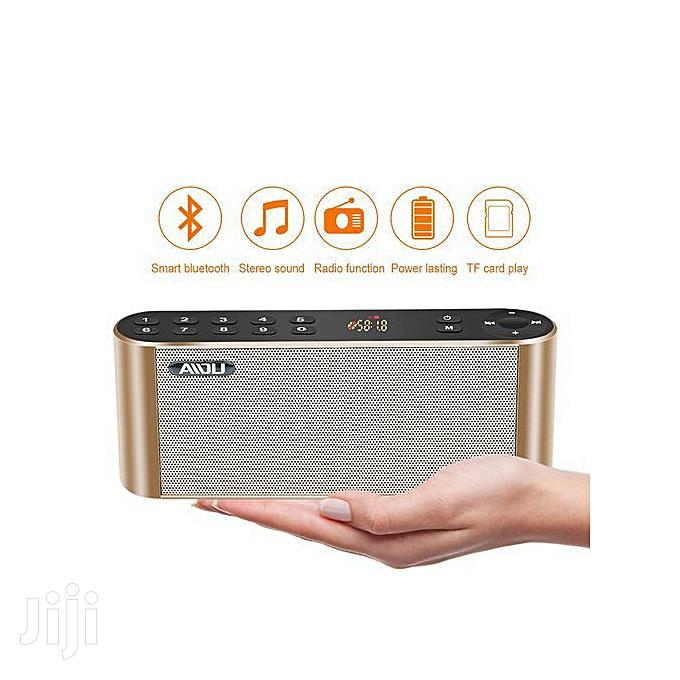 Pocket Audio Subwoofer Hifi Led Speaker With Mic