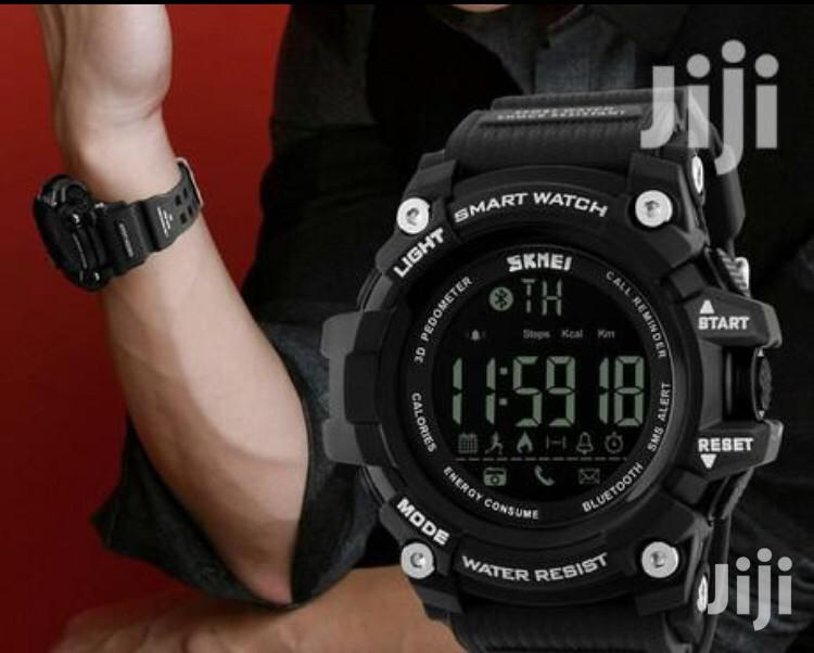 Skmei New Sport Waterproof Bloothoot Watch | Smart Watches & Trackers for sale in Lagos Island, Lagos State, Nigeria