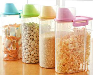 Portable Home Kitchen Storage Plastic Grain Cereal Container   Kitchen & Dining for sale in Lagos State