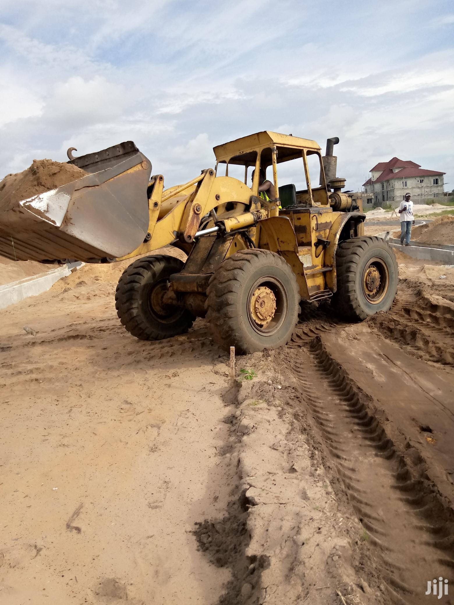 Cat 944 Payloader 1975 Yellow