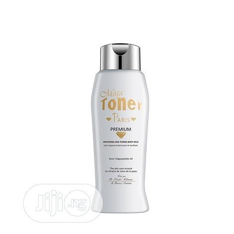 Mega Toner Whitening And Toning Body Milk