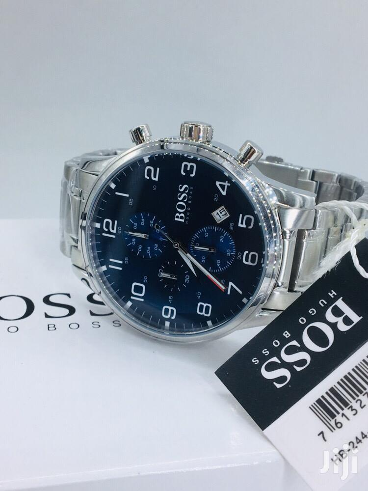 Hugo Bossx Quality Pure Stainless Steel | Watches for sale in Lagos Island (Eko), Lagos State, Nigeria