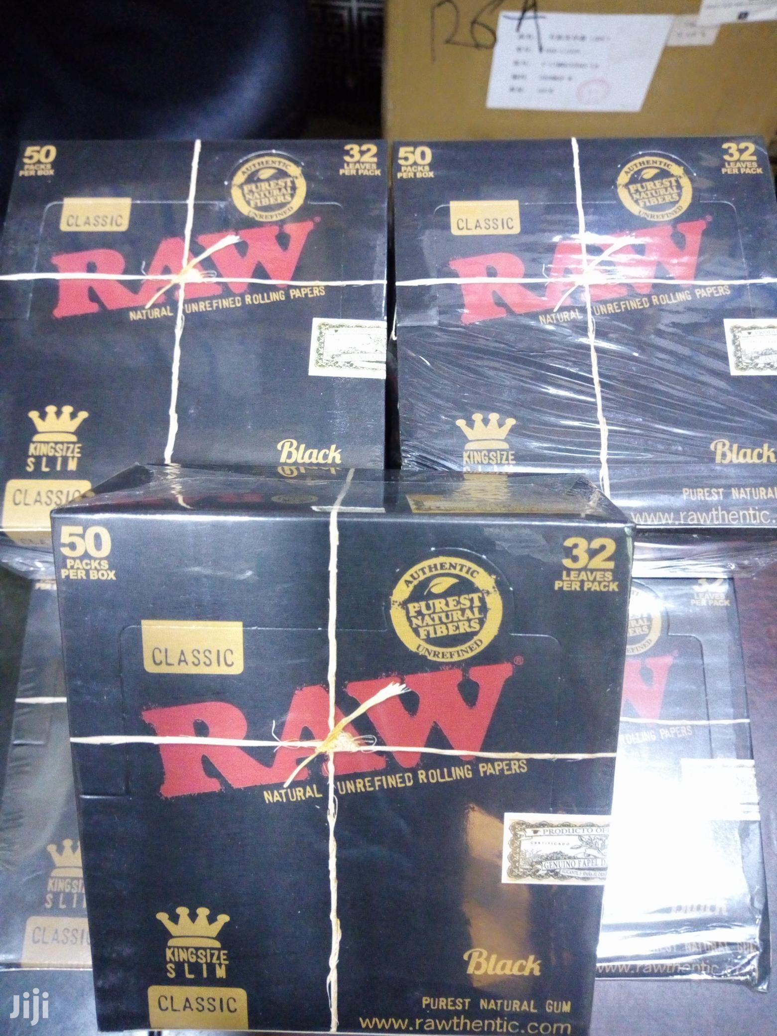 Raw Black Rolling Paper