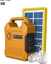 Saroda Solar Lighting Kit USB Port And 3DC Jacks For Bulbs | Solar Energy for sale in Delta State, Isoko
