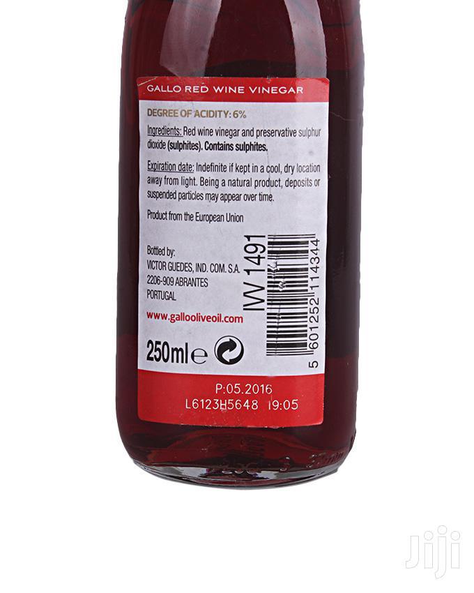 Archive: Gallo Red Wine Vinegar 250ml