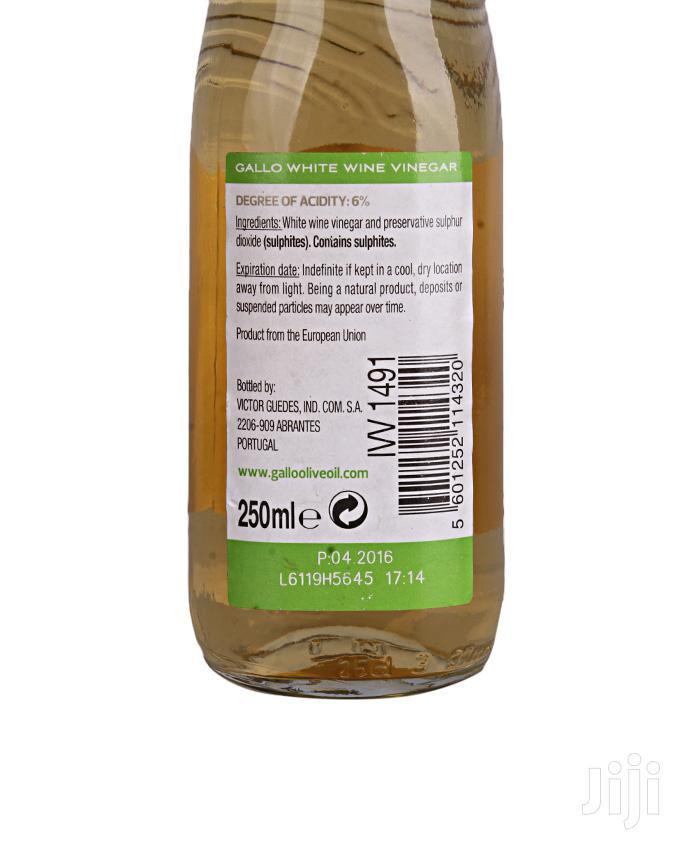 Archive: Gallo White Wine Vinegar 250ml