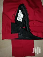 Exclusive Pepper Red Turkish Designer Pants Trousers by Paolo Maldini | Clothing for sale in Lagos State, Lagos Island