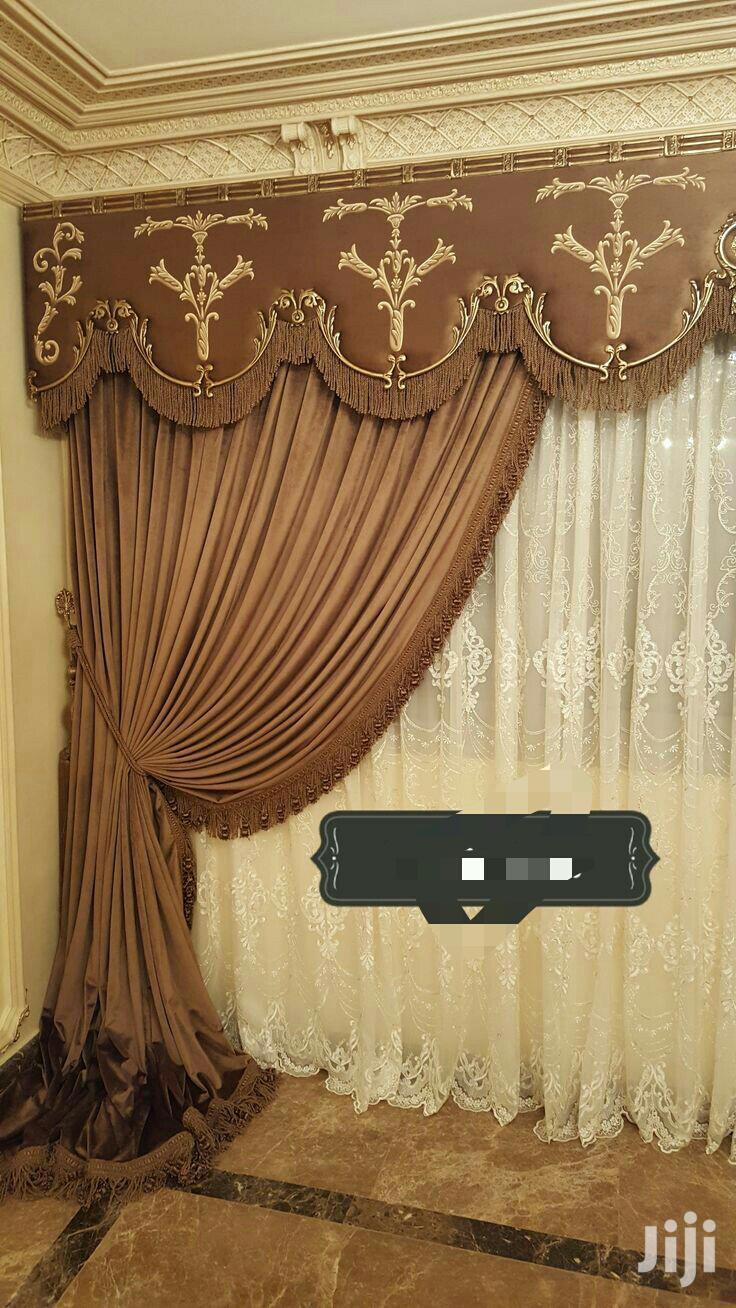 Turkish Valance Board Curtain Design