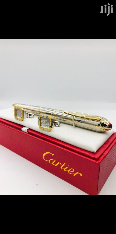 Cartier Cufflinks And Pen