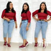 Turkey Classic Denim Body Hug And Pedal Jeans | Clothing for sale in Lagos State, Agege