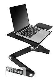 Archive: Generic Adjustable Laptop Table With Mouse Pad & Cooler