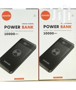 Wireless Charging Power Bank 10000mah - Black   Accessories for Mobile Phones & Tablets for sale in Lagos State, Ikeja