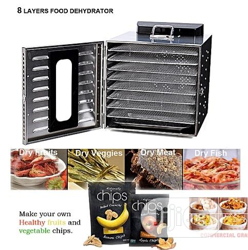6 Layers Food Dehydrator (Dryer) Commercial Stainless Steel