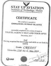 Company Secretary At Arik Air | Travel & Tourism CVs for sale in Lagos State, Ikotun/Igando