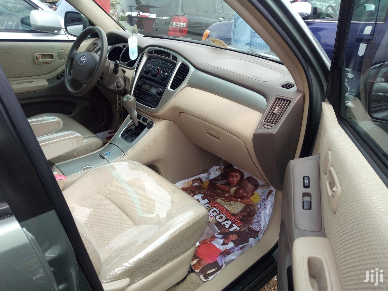 Toyota Highlander 2005 Limited V6 Green | Cars for sale in Apapa, Lagos State, Nigeria