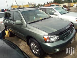 Toyota Highlander 2005 Limited V6 Green   Cars for sale in Lagos State, Apapa