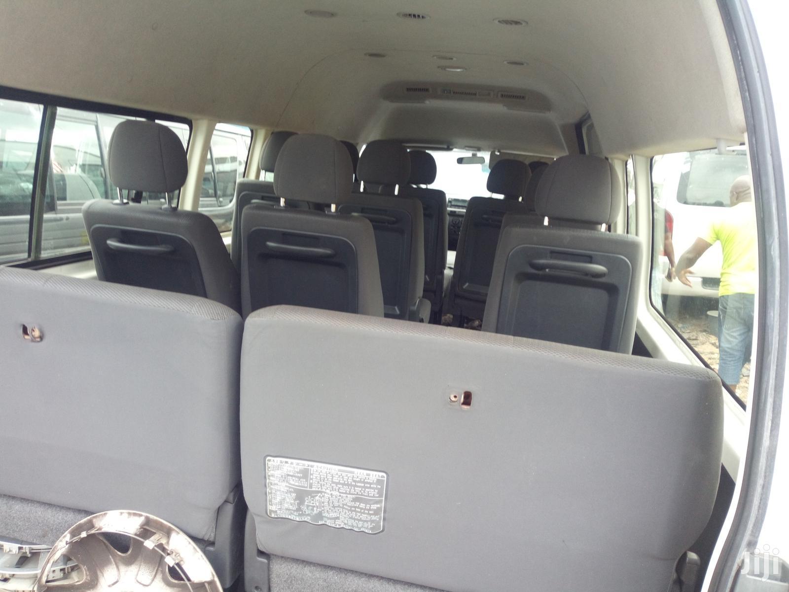 Toyota HiAce 2015 White | Buses & Microbuses for sale in Apapa, Lagos State, Nigeria