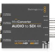 Blackmagic Design Mini Converter Audio To SDI 4K | Accessories & Supplies for Electronics for sale in Lagos State, Ikeja