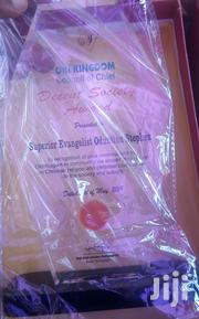 Acrylic Award With Printing   Arts & Crafts for sale in Lagos State, Lagos Island