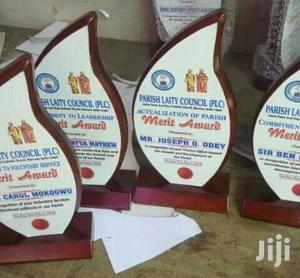 Wooden Plaque Award With Printing   Arts & Crafts for sale in Lagos State, Surulere