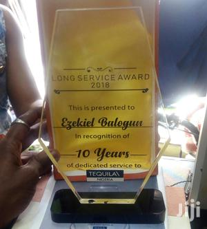 New Acrylic Award With Printing | Arts & Crafts for sale in Lagos State, Yaba