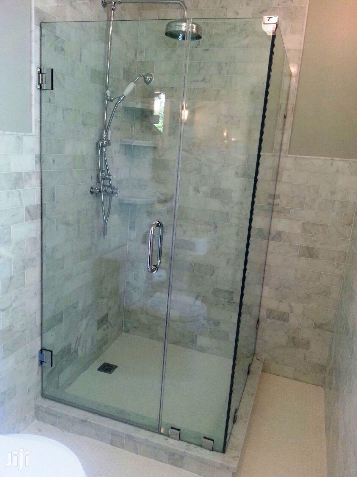 "Shower Cubicle Or Bathroom Glass 39"" X 39"" X 75"" 100% Watertight"
