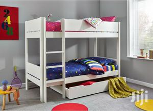 Wooden,Bunk Beds 3ft by 6 Ft It Have Under Cabinet | Furniture for sale in Lagos State, Ajah