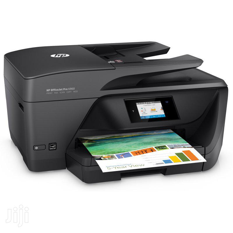 HP Officejet Pro 6960 All-In-One Printer | Printers & Scanners for sale in Wuse 2, Abuja (FCT) State, Nigeria