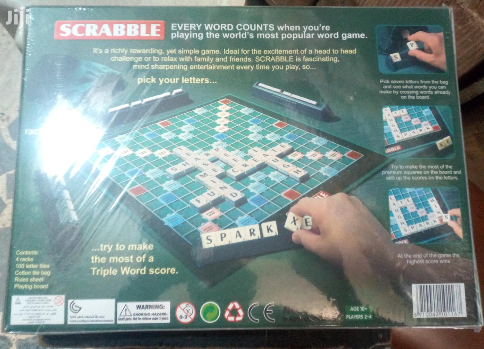 Original Scrabble Game