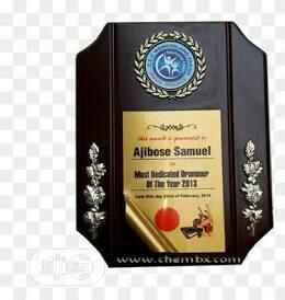 Award Plaque for Graduation Pupils | Arts & Crafts for sale in Lagos State, Surulere