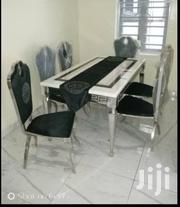 Quality Versace Marble Dining Table With 6chairs | Furniture for sale in Lagos State, Ojo
