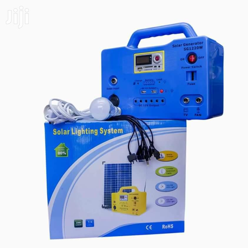 1220w Solar Generator