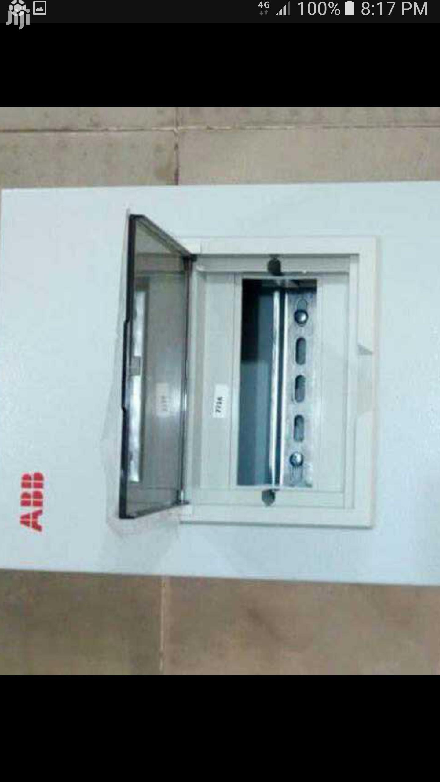 D8 Single Phase Distribution Board