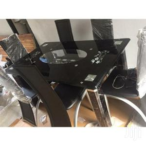 Classic Six Seaters Glass Top Dining Table   Furniture for sale in Lagos State, Yaba